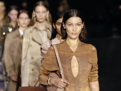 Burberry at London Fashion Week 2020. Pic: Getty Images